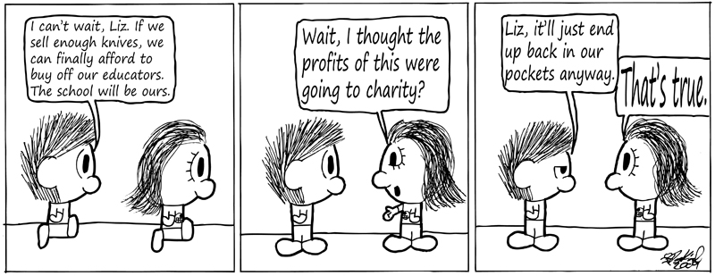 Negligence #207: We are a Charity Case