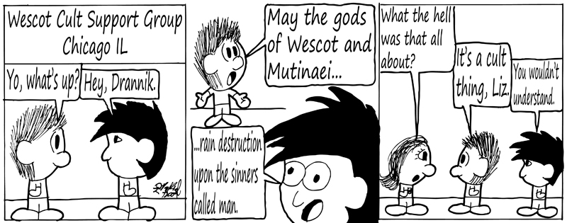 Negligence #157: Wescot Cult Support Group