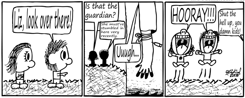 Negligence #116: The Guardian Returns