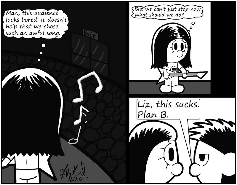 Negligence #459: Plan B