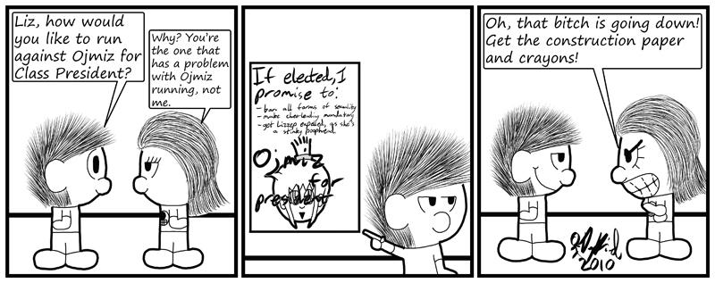 Negligence #349: Stinky Poophead