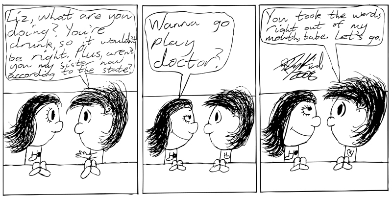 Negligence #17: Wanna Go Play Doctor?