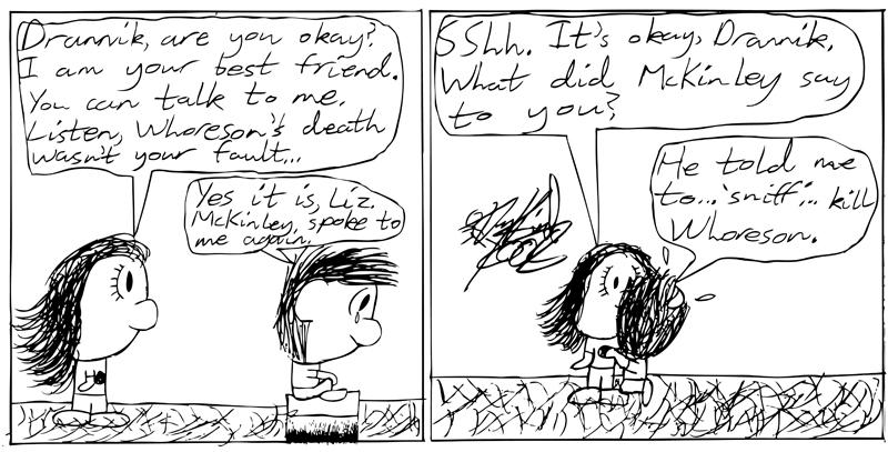 Negligence #48: Drannik Confesses