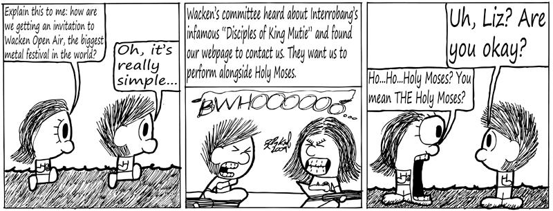 Negligence #216: Moses and Wacken