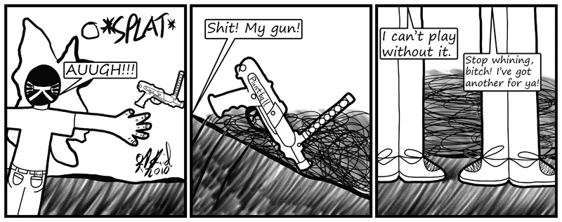 Negligence #411: Butterfingers