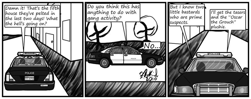 Negligence #415: Genre-savvy Cops