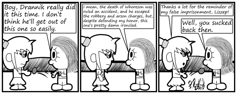 Negligence #384: Ojmiz and Lizzep...Friends?
