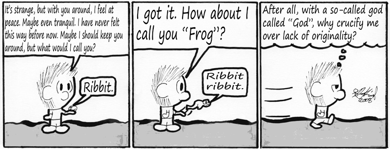 Negligence #129: A Frog Named Frog
