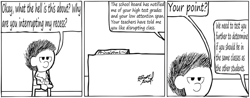 Negligence #292: Meeting with the Principal