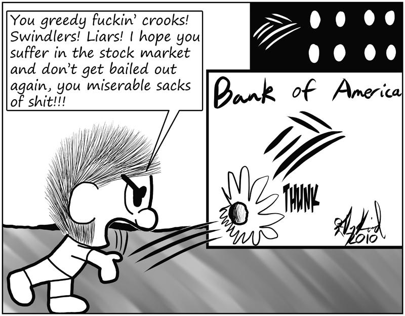 Negligence #408: Debtors' Revolt, Motherfucker!